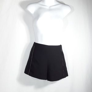 Forever 21 Shorts - F21 Black Short Shorts Hot Pants w/ chains